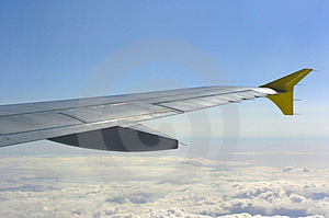 Aircraft Winglet Royalty Free Stock Photography - Image: 2864517