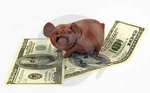 Pigs And Money Stock Photos - Image: 2865323