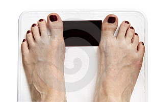 Weighing In Stock Photo - Image: 2867020