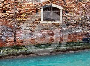 Venetianisches Haus-Wand Detail Stockfotos - Bild: 28661403