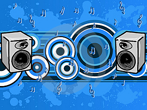 Music Blues Royalty Free Stock Photo - Image: 2873725