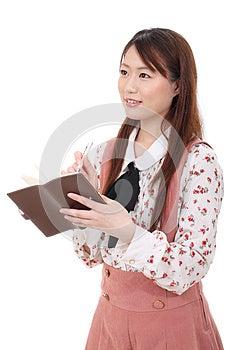 Jonge Aziatische Vrouw Stock Afbeelding - Afbeelding: 28705761