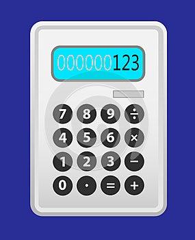 Cinza Da Calculadora. Foto de Stock Royalty Free - Imagem: 28707425