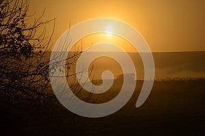 Beautiful House At Sunrise In Hagamon Lake Royalty Free Stock Image - Image: 28754216