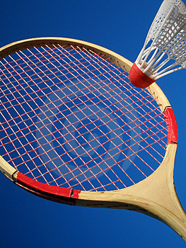 Badminton Stock Foto's - Afbeelding: 2880333