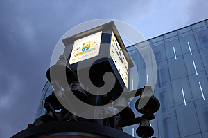 Leicester Sq, Central London, England Royalty Free Stock Photography - Image: 28895407