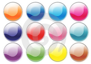 Colorful Buttons Royalty Free Stock Photography - Image: 2895667