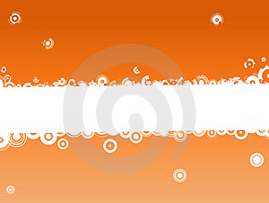 Orange Text CopySpace Stock Images - Image: 2896424