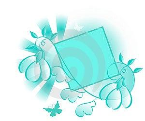 Turquoise Design Element Royalty Free Stock Photo - Image: 2897375