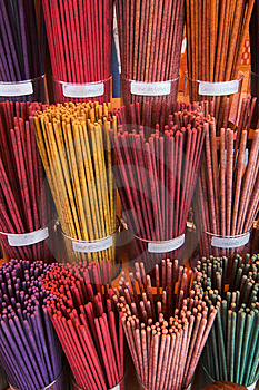 Joss Sticks Royalty Free Stock Photo - Image: 2897475