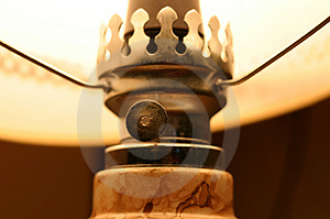 Table Lamp Details Stock Photos