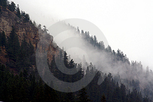 Mountain Fog Free Stock Photo