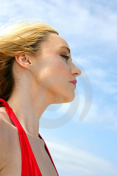 Feel The Breeze Stock Image