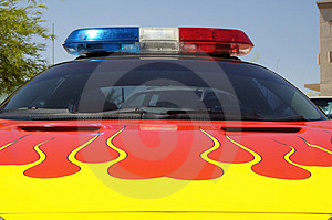 Sheriff's Vehicle Royalty Free Stock Photography - Image: 295977