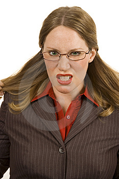 Angry Businessperson Stock Images