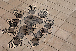 Seats And Shadows Royalty Free Stock Image - Image: 2907296