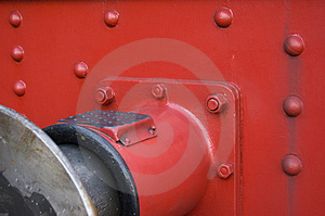 Railway Vehicle Buffer Royalty Free Stock Photography - Image: 2907327