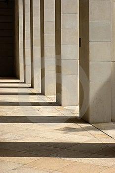 Stone Columns Stock Image - Image: 2907351