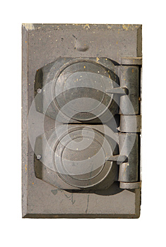 Outdoor Electrical Outlet Isolated Stock Images - Image: 29062084