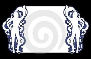 Funky Female Frame Stock Images - Image: 2911554
