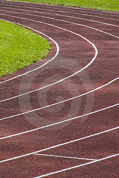 Running Track Free Stock Images