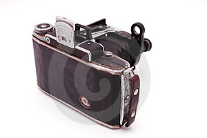 Old Roll-film Camera Royalty Free Stock Image - Image: 2916186