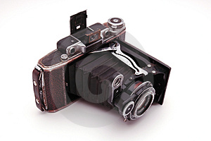 Old Roll-film Camera Stock Photos - Image: 2922683