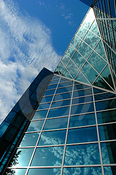 Modern Business Centre Royalty Free Stock Image - Image: 2922836