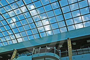 Modern Trade Centre Royalty Free Stock Image - Image: 2922846