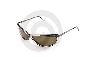 Brown Sunglasses On White Stock Photos - Image: 2926593