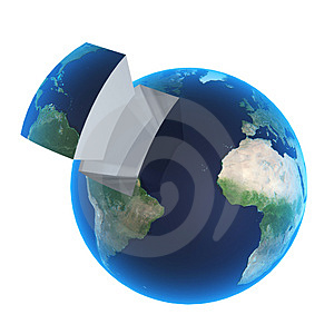 Block Of World Royalty Free Stock Image - Image: 2929316