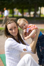 Mum and child Royalty Free Stock Photos