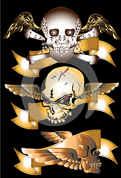 Skull Art Royalty Free Stock Images - Image: 29261079