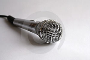 Mic For Karaoke Stock Image - Image: 2930501