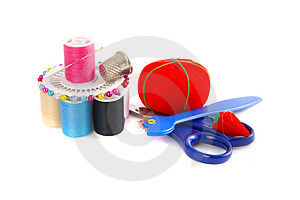 Sew Essential Royalty Free Stock Photos - Image: 2935808