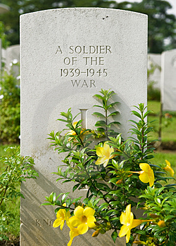 Soldier's Memorial Royalty Free Stock Image - Image: 2936036