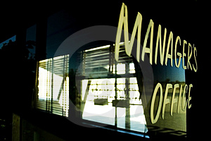 Manager's Office Stock Photography - Image: 2937322
