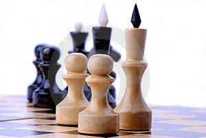 Chess-men Stock Photos