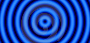 Blue And Black Target Stock Images - Image: 2941124