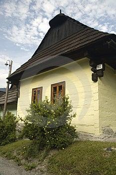 UNESCO Heritage - Vlkolinec Stock Image - Image: 2944321