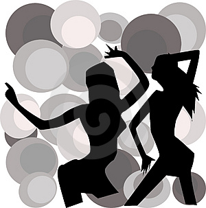 Dancing Girls Royalty Free Stock Images - Image: 2944419