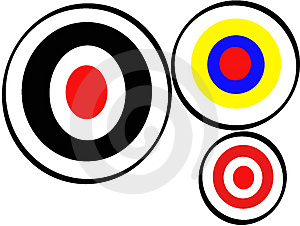 Correct Archery Target Stock Photography - Image: 2944452