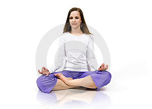 Yoga Royalty Free Stock Photo