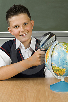 I like geography Free Stock Image