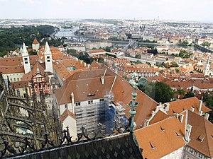 Praha - Aerial View Royalty Free Stock Photo - Image: 2953145