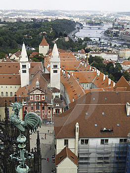 Aerial View - Praha Royalty Free Stock Photos - Image: 2953178
