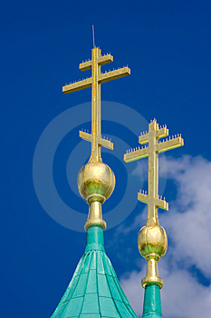 Gold Cross Royalty Free Stock Image - Image: 2959986