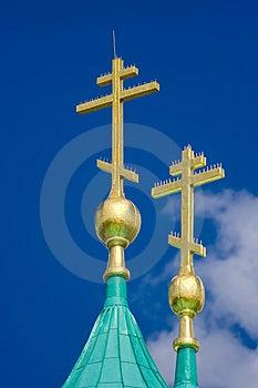 Gold Cross Royalty Free Stock Image - Image: 2959986