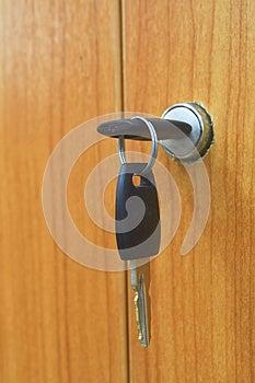 Sleutel. Stock Afbeeldingen - Afbeelding: 29587814