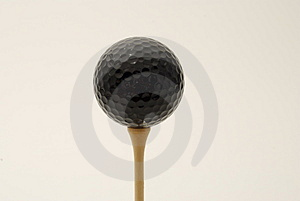 Black Golf Ball Stock Photography - Image: 2963542